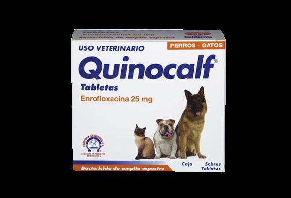 Quinocalf-Tabletas